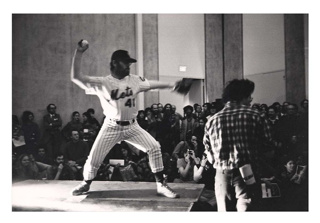 """Home Run - Run Home"" at The MoMA, 1977, photo: Lizbeth Marano"