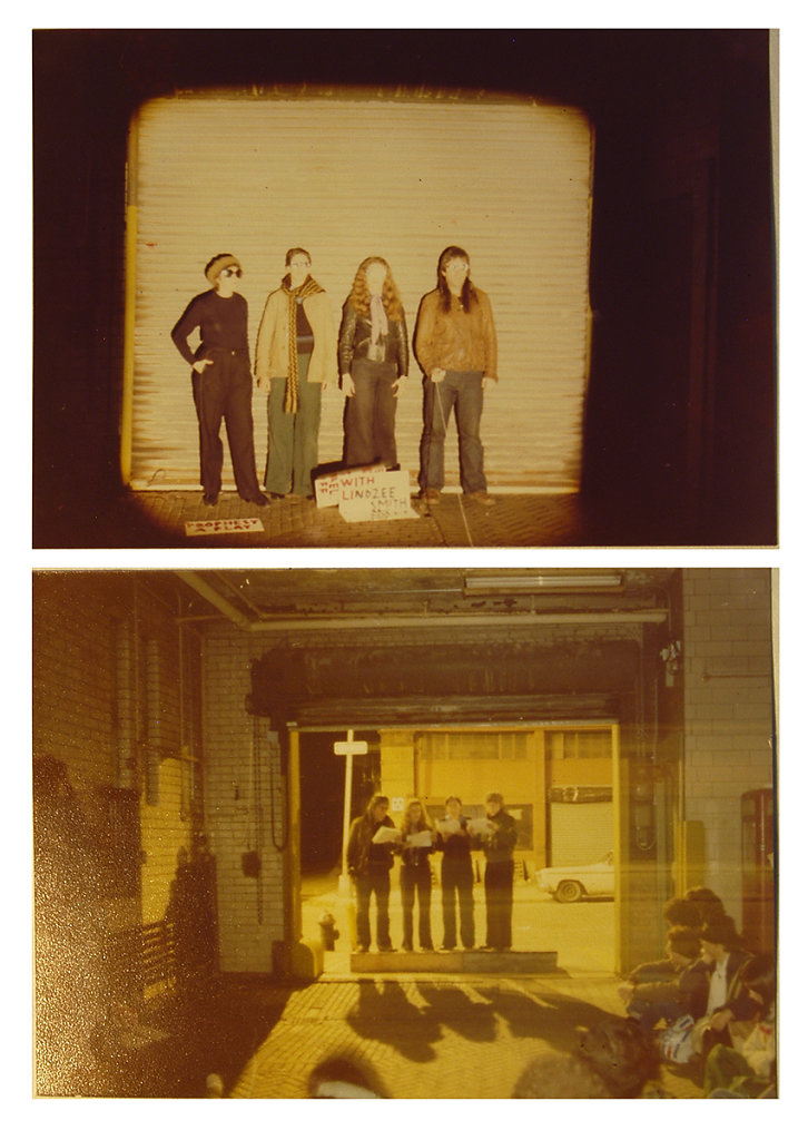 "Peter Handke,  ""Prophecy"" &  ""Distress Call"", 9 Jay Street Garage, 1977"